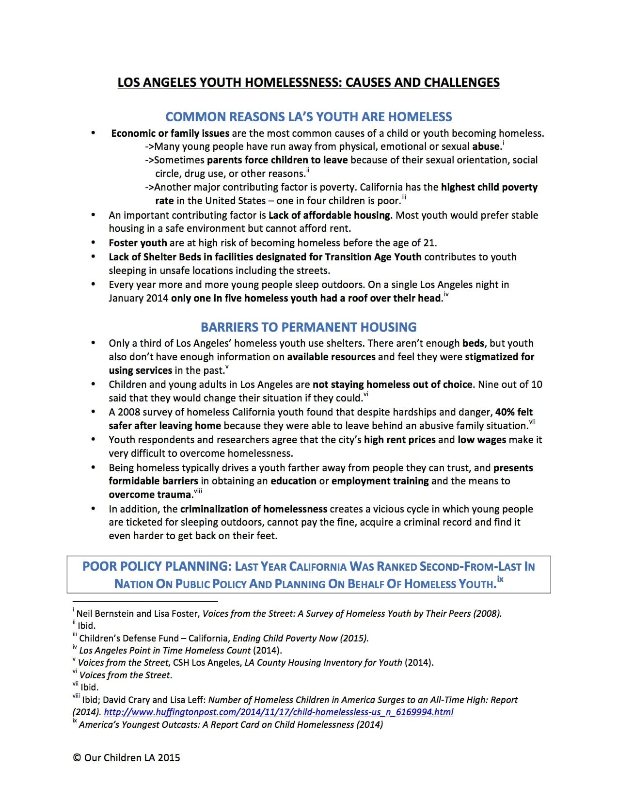 FactSheet_GeneralCauses_and_challenges_2015