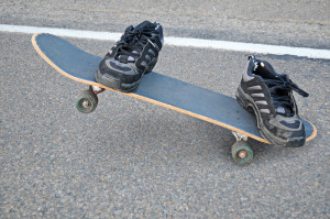 skate board adnd shoes_canstockphoto4045818