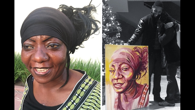 Homeless portraits: Artist tells story of those on the street in
